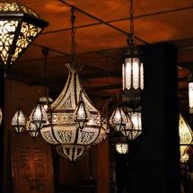 صناعة الفوانيس في دمشق