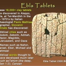 Ebla Kingdom - clay tablets