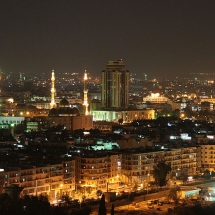 Mosque-Aleppo at night