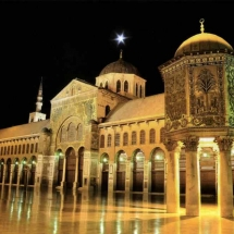 The Umayyad Mosque - Damascus