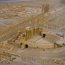 city of Palmyra- Homs